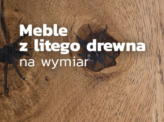 Meble na wymiar z litego drewna