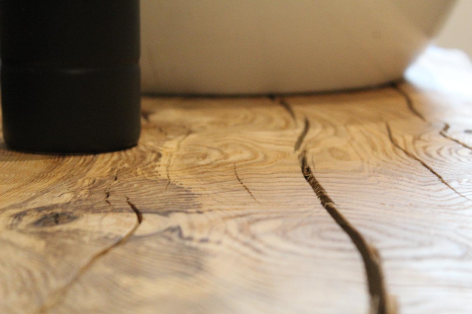 Meble łazienkowe z litego drewna #2