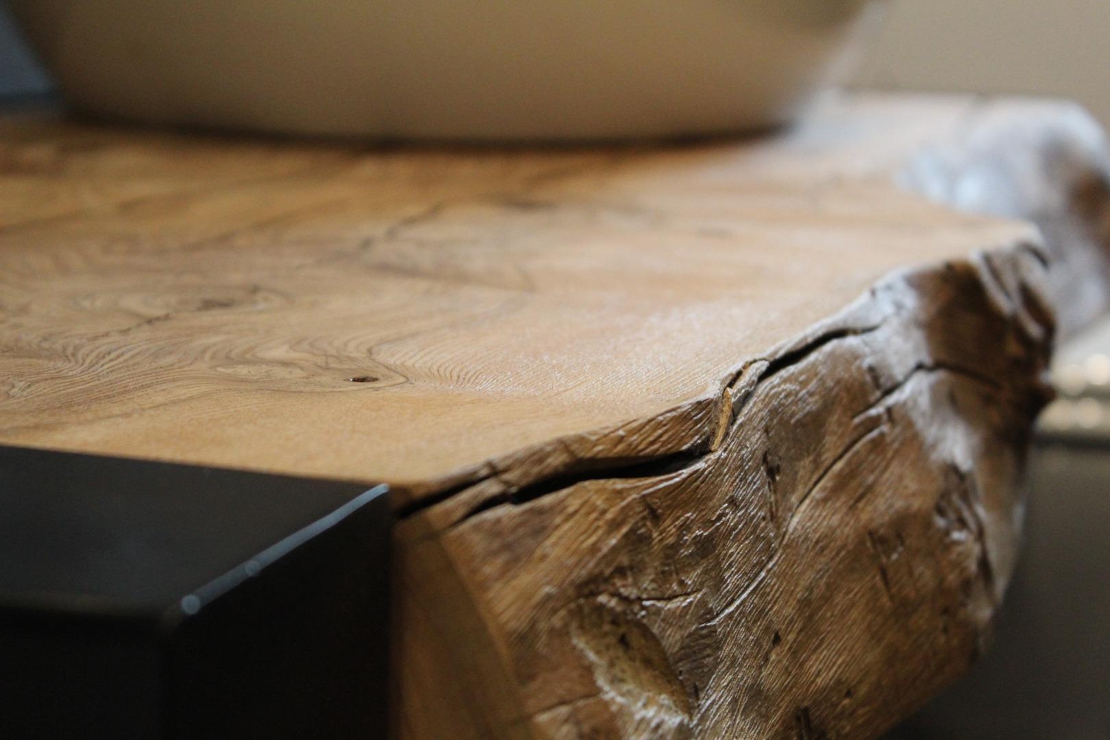 Meble łazienkowe z litego drewna #3