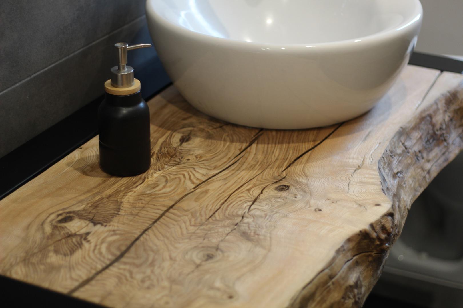 Meble łazienkowe z litego drewna #4