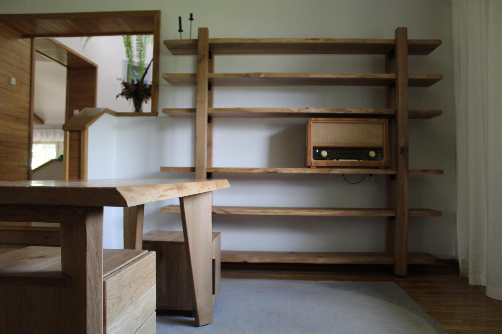 Regał i biurko #4