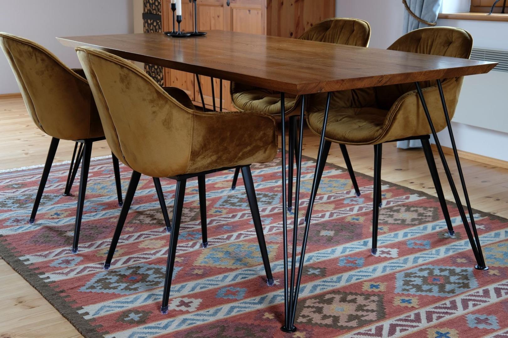 Stół na nodze Hairpin legs #1