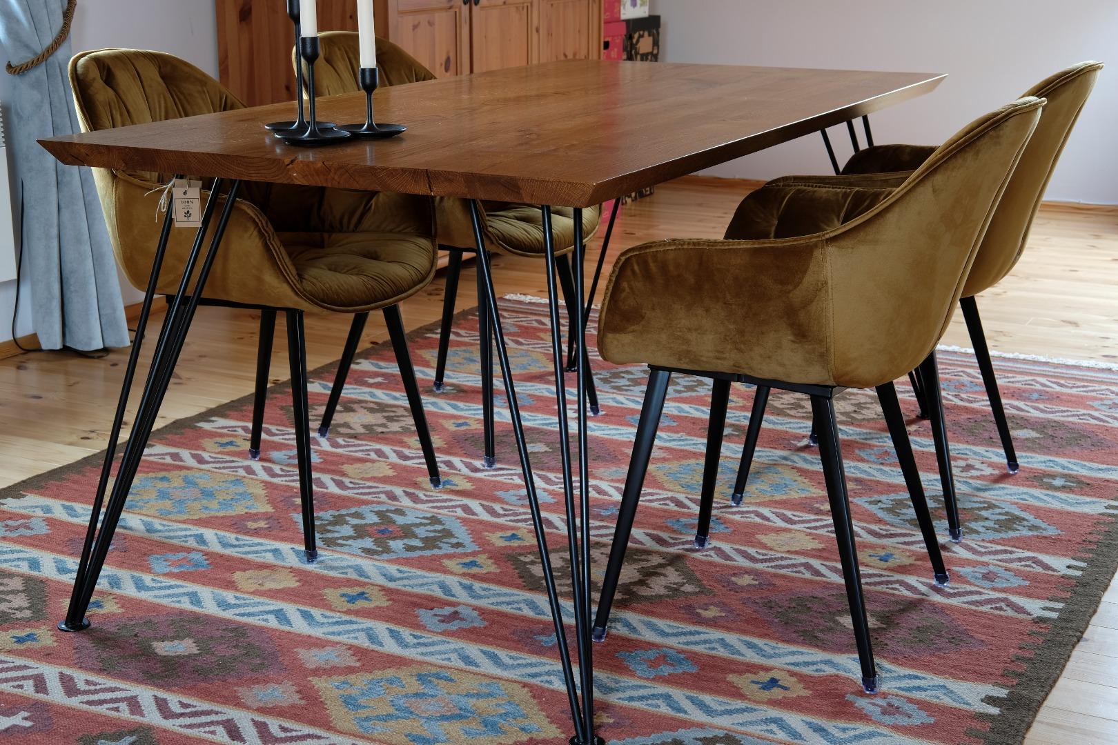 Stół na nodze Hairpin legs #2