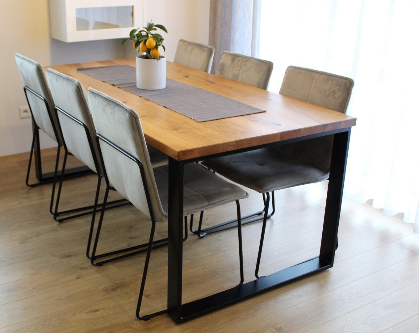 Klasyczny stół industrialny #9