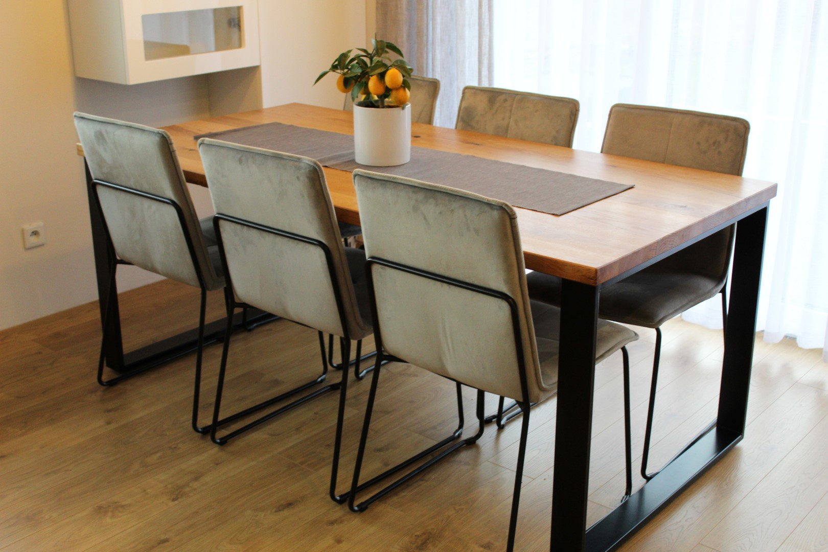 Klasyczny stół industrialny #6