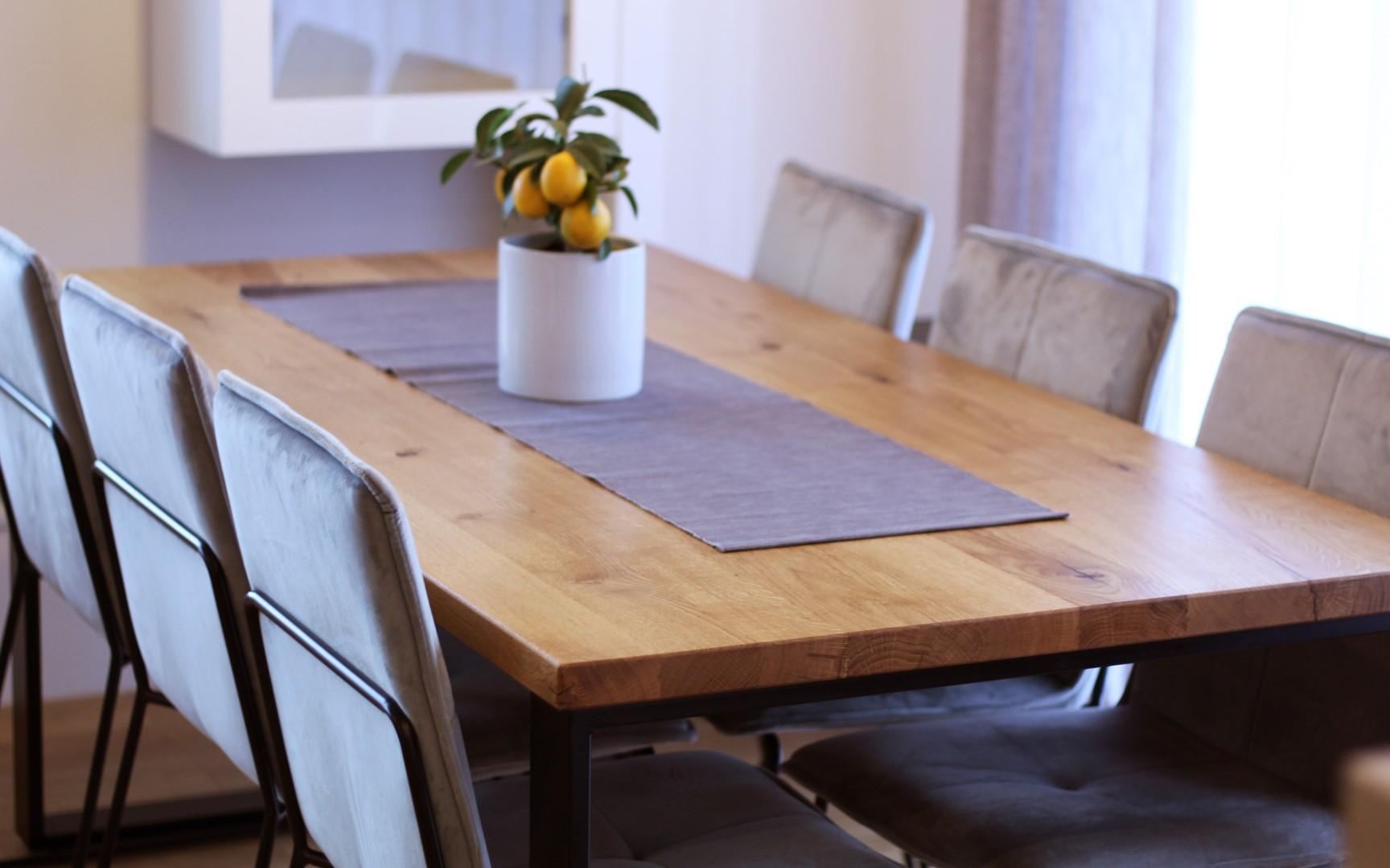 Klasyczny stół industrialny #1