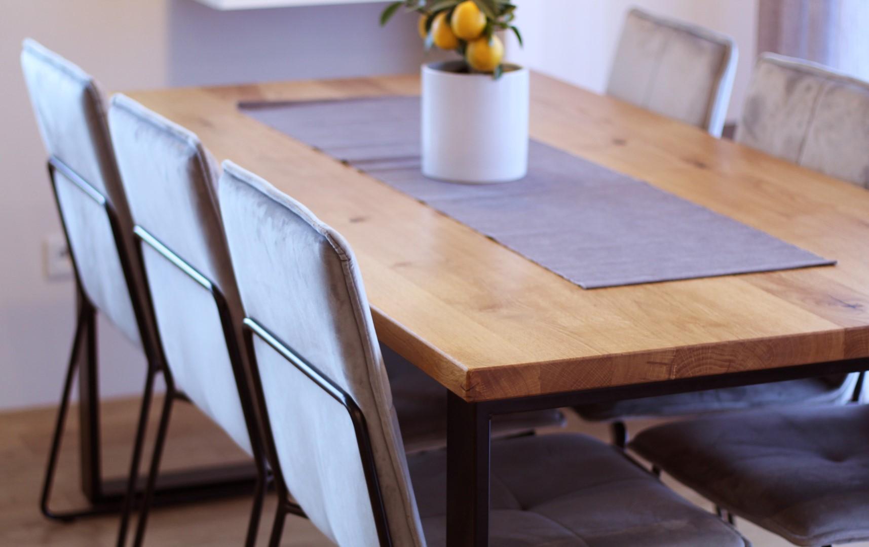 Klasyczny stół industrialny #3