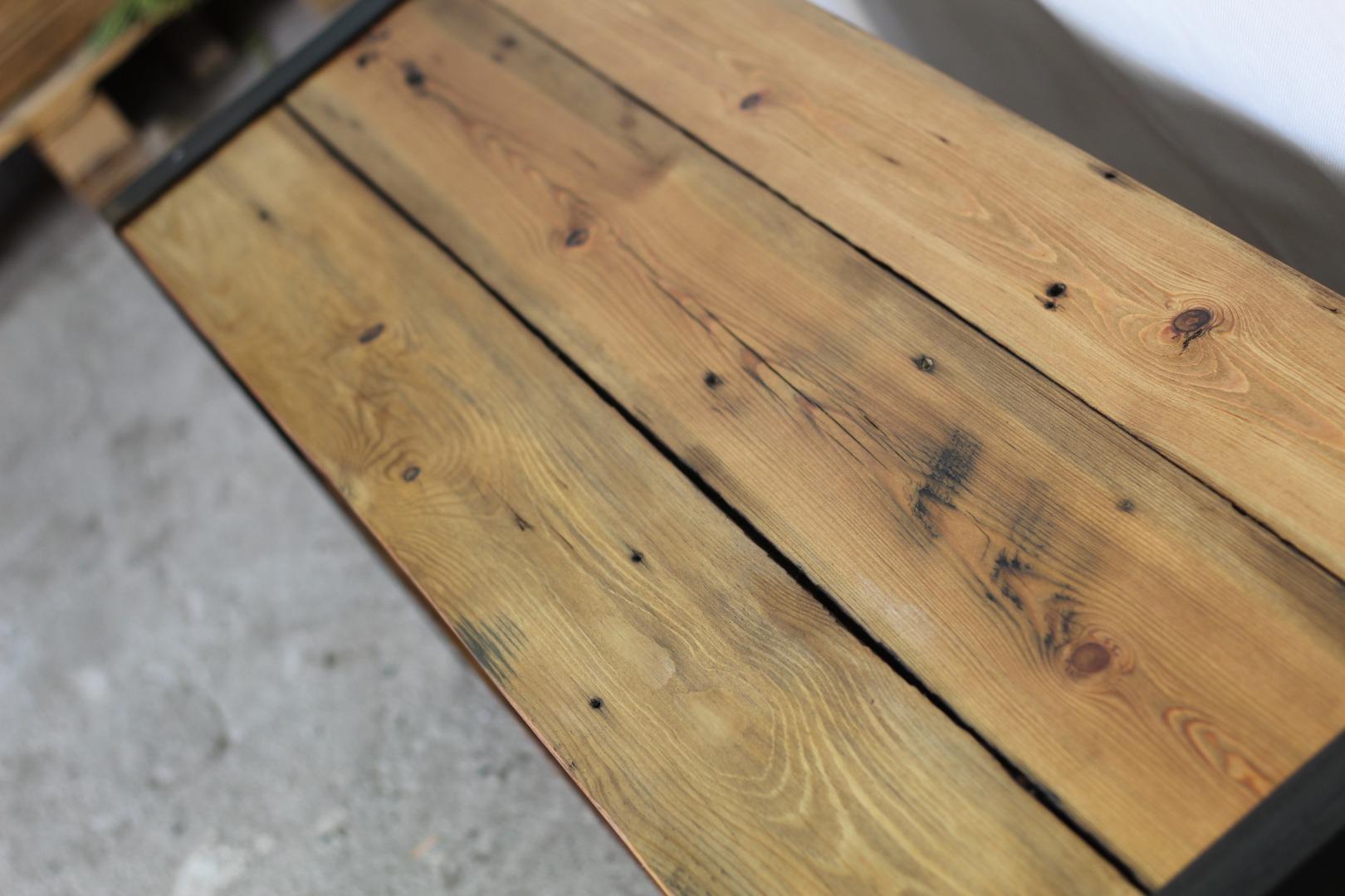 Szafka RTV z starego drewna #2