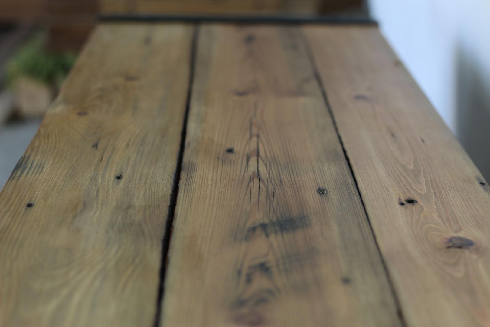 Szafka RTV z starego drewna #3