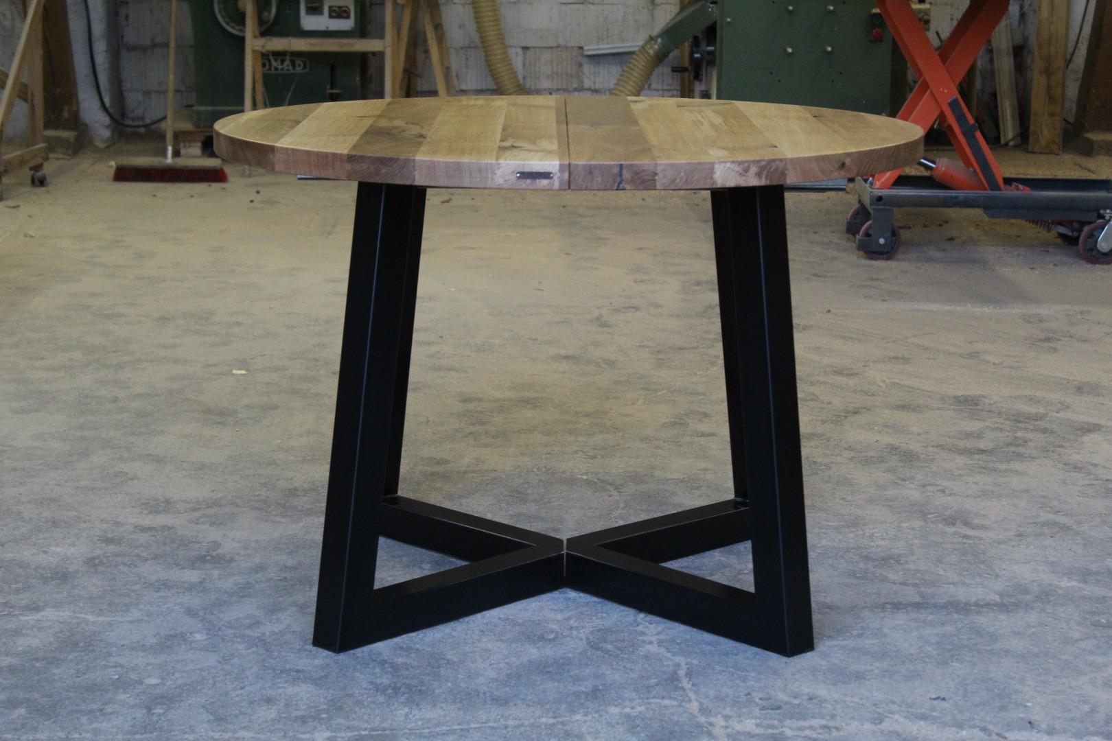 Okrągły stół loftowy #5
