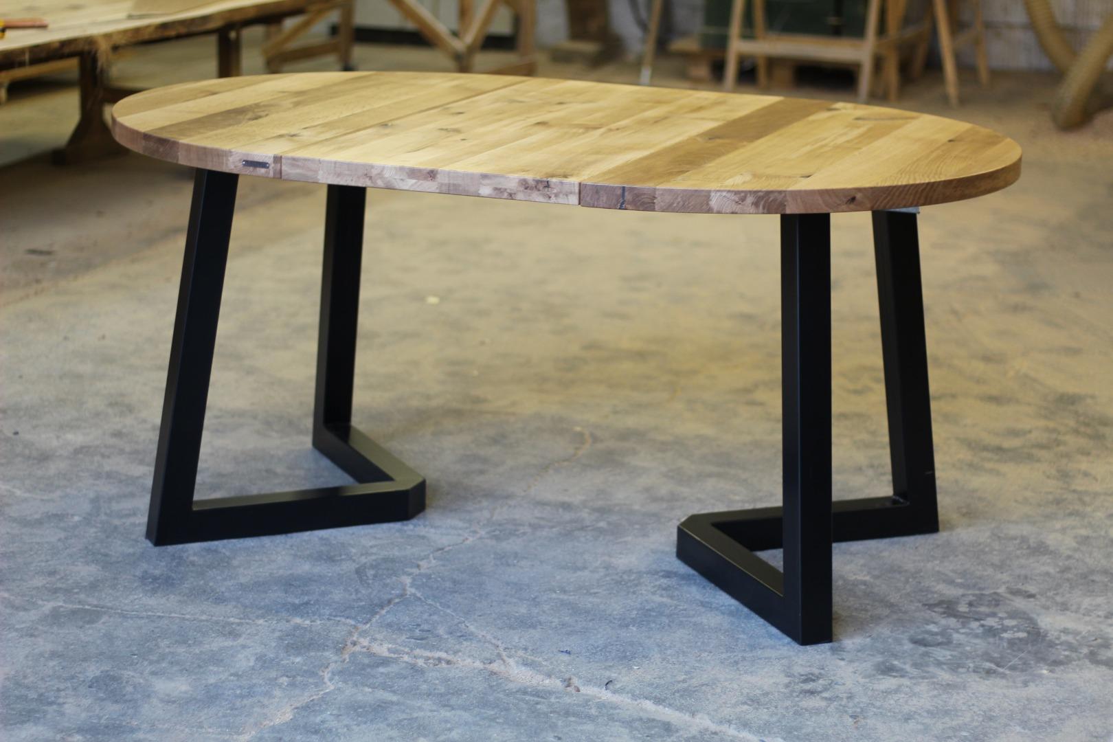 Okrągły stół loftowy #1