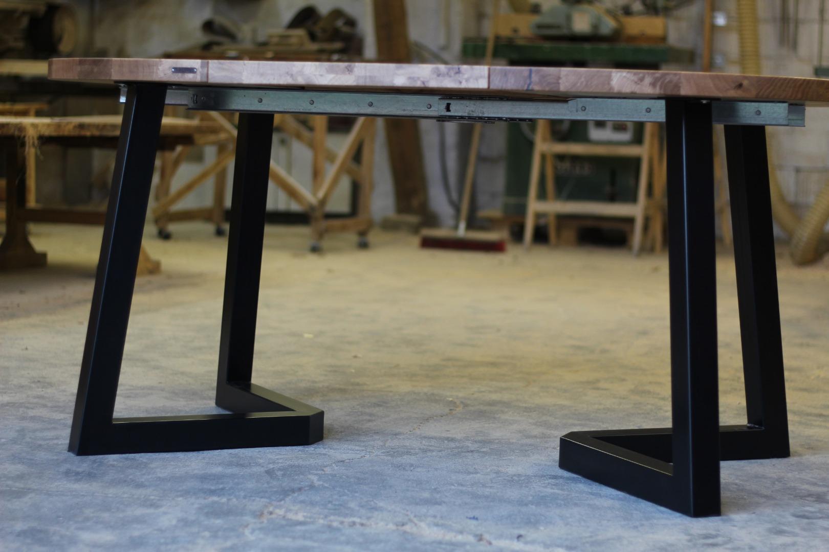 Okrągły stół loftowy #2
