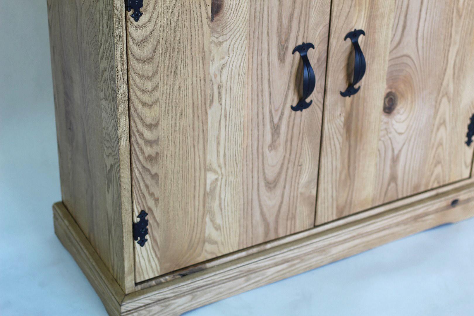 Prowansalska komoda z drewna jesionu #5