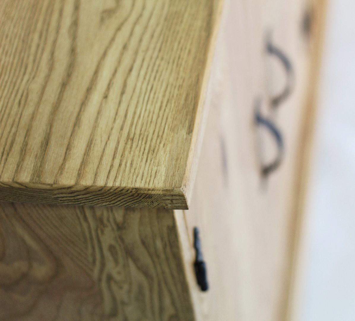 Prowansalska komoda z drewna jesionu #6