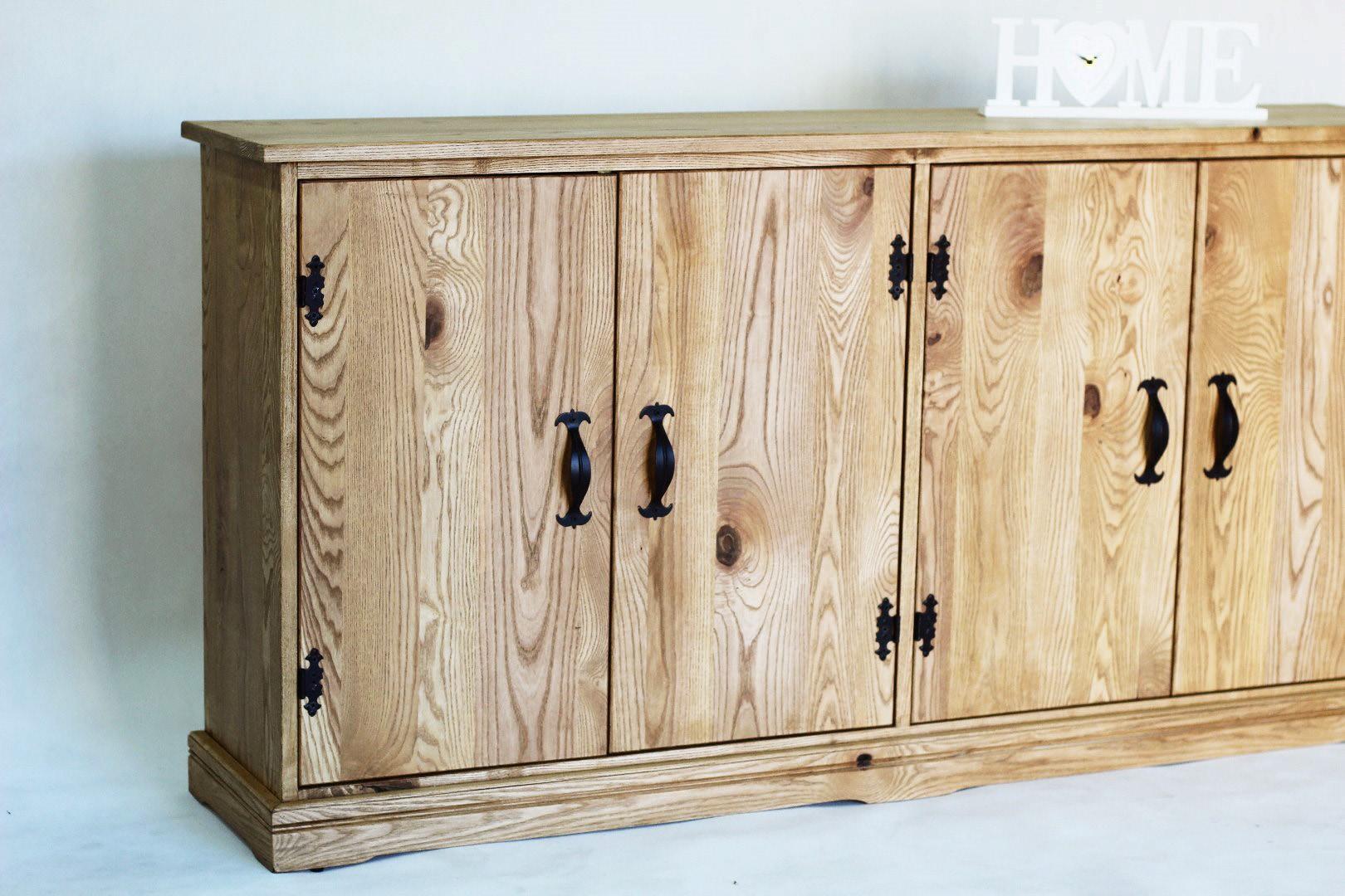 Prowansalska komoda z drewna jesionu #3
