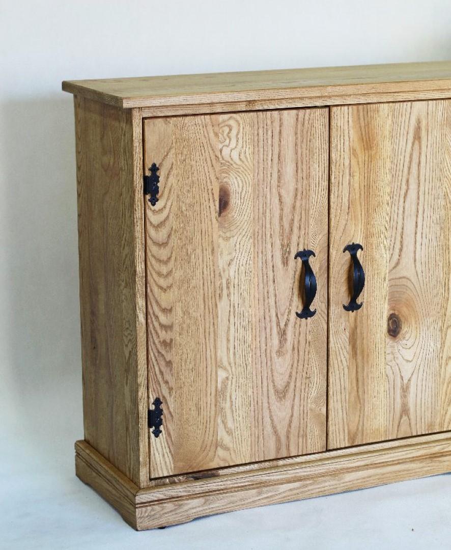 Prowansalska komoda z drewna jesionu #7