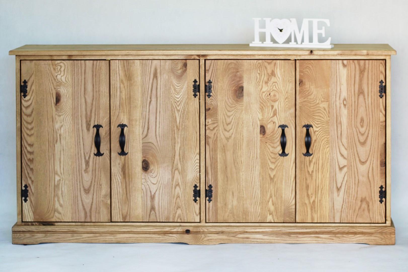 Prowansalska komoda z drewna jesionu #1