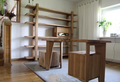 Regał i biurko