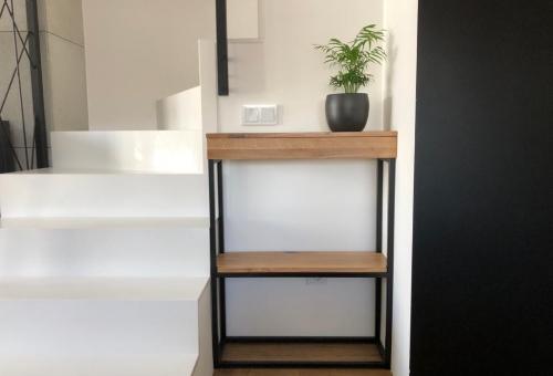 Konsola loft z szufladą